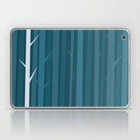 Blue Wood Laptop & iPad Skin