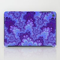 Purple Fractal art iPad Case