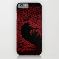 iPhone & iPod Case featuring Son of the Dragon  by UvinArt