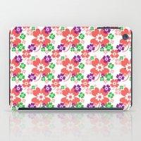lucky flower multi iPad Case