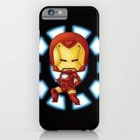 iPhone & iPod Case featuring Chibi Ironman by artwaste