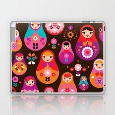 Russian Dolls illustration pattern print Laptop & iPad Skin