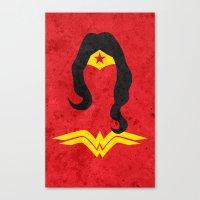 Diana Prince Canvas Print