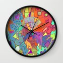 Colorific Wall Clock