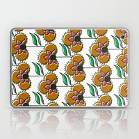 70s inspired pattern Laptop & iPad Skin