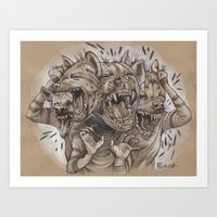 A Sense of Humor Art Print