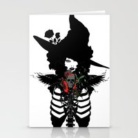 Sexy Witch Stationery Cards