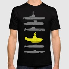 Know Your Submarines Mens Fitted Tee Black SMALL