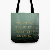 Hazy Eyes Tote Bag