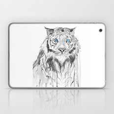 Tiger, black and white Laptop & iPad Skin