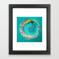 the abstract dream 17 Framed Art Print