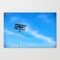 Ballpark Lights Canvas Print