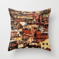 Cantagalo Throw Pillow