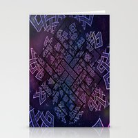Tibetan Knot/Seed of life  Stationery Cards