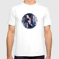Life Obscurer Mens Fitted Tee White SMALL