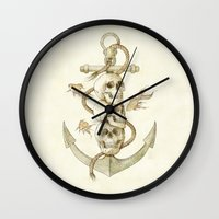 Three Missing Pirates Wall Clock