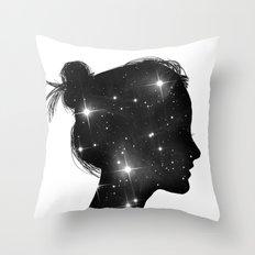 Star Sister Throw Pillow