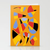 Abstract #91 Stationery Cards