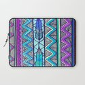 Two Feathers (color version 3) Laptop Sleeve