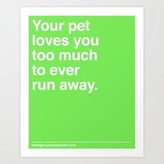 Your Pet Art Print