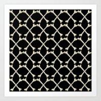 Crossbones Art Print