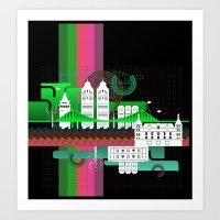 Istanbul Aka Constantino… Art Print