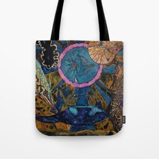 Underwater meeting Tote Bag