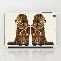Golden Retriever ivory iPad Case