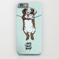 Hang in There Baby English Bulldog iPhone 6 Slim Case