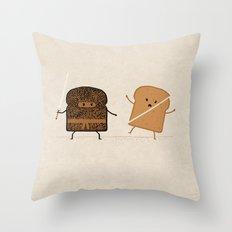 Slice! Throw Pillow