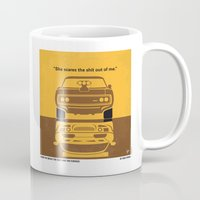 No207 My The Fast and the Furious minimal movie poster Mug