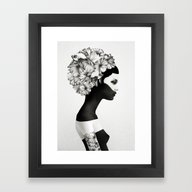 Framed Art Print featuring Marianna by Ruben Ireland
