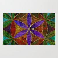 The Flower of Life (Sacred Geometry) 2 Rug