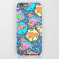 Nineties Dinosaur Patter… iPhone 6 Slim Case