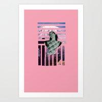 Mountain Mary Art Print