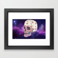 Liberty Skull Framed Art Print