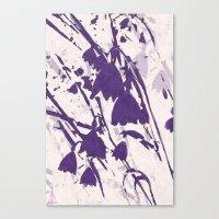 Purple Spring Dream Canvas Print