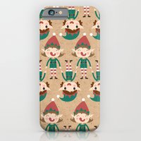 Day 17/25 Advent - Santa's Slaves I iPhone 6 Slim Case