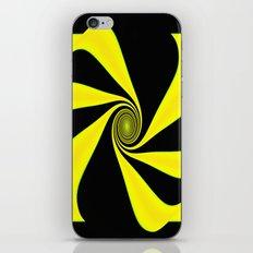 Abstract. Yellow+Black. iPhone & iPod Skin