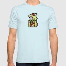Final Fantasy II - Edward Mens Fitted Tee Light Blue SMALL