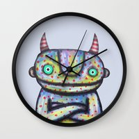 Devil With Good Intentio… Wall Clock