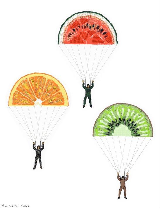 Vitaminized commando (Commando vitaminé) Art Print