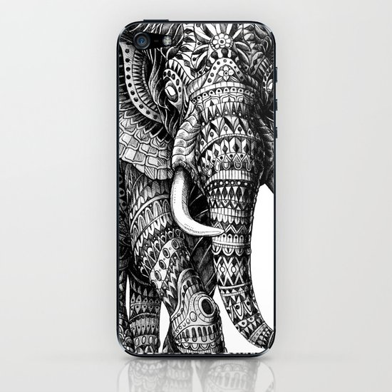 Ornate Elephant v.2 iPhone & iPod Skin