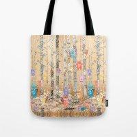 Monster forest Tote Bag