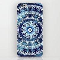 Marina Blue Mandala iPhone & iPod Skin