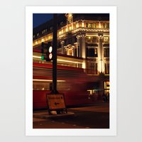 London Diversion Art Print