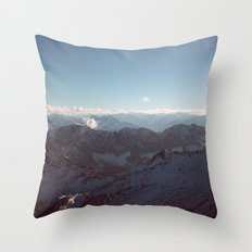 Alps Mountain Germany Color Photography Nature Throw Pillow