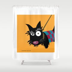 Scottish Terrier Shower Curtain