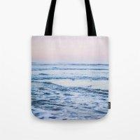 Pacific Ocean Waves Tote Bag