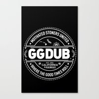 Canvas Print featuring Motivated stoners by GGDUB